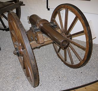 Blakely rifle - A 2.75 inch mountain Blakely rifle.