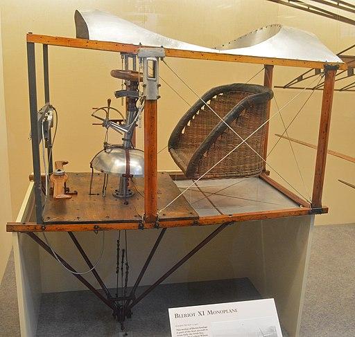 Bleriot XI cockpit (18938454591)