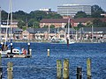 Blick auf Sonwik mit dem KBA dahinter (Flensburg-Mürwik 2014-07-23), Bild 01.jpg
