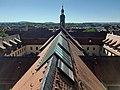Blick vom Dach des Parkhauses Brauhausstraße auf das Heilig-Geist-Hospital, Fulda.jpg