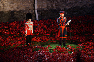 Blood Swept Lands and Seas of Red - Reading of the Roll of Honour, to be followed by playing of the Last Post