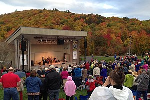 Blue Ridge Music Center - The Blue Ridge Music Center hosts concerts each summer at its outdoor amphitheater on the Blue Ridge Parkway.