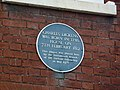 Blue plaque in Old Commercial Road - geograph.org.uk - 2277017.jpg