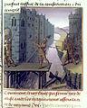 BnF Français 273-274 Tite-Live de Versailles, fol. 49, Horatius Coclès défendant Rome.jpg