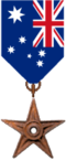The Australian Barnstar of National Merit, a gift from Auntof6