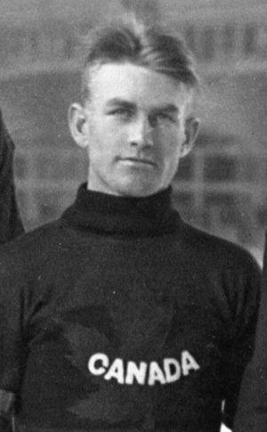 Robert Benson (ice hockey) - Benson at the 1920 Olympics
