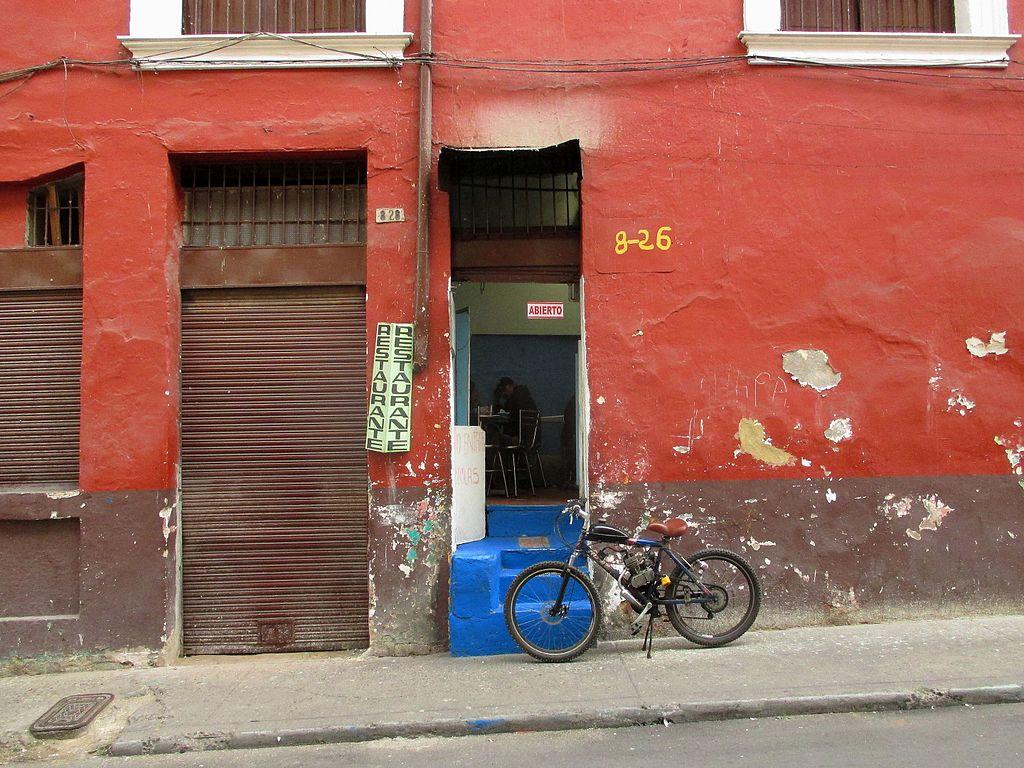 Bogotá La Candelaria Restaurante carrera 8 con calle Octava