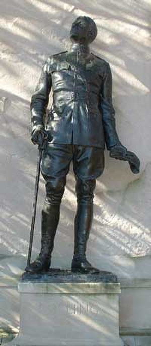 Greenwich, Connecticut - Memorial to Col. Raynal C. Bolling, first high-ranking US officer killed in World War I