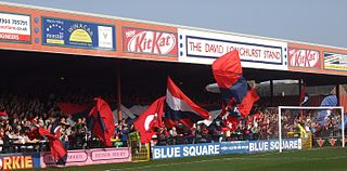 Bootham Crescent sports stadium in York, North Yorkshire, England