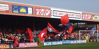 Bootham Crescent - David Longhurst Stand in 2009