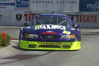 Boris Said - Said competes in a Trans-Am Series race in 2005 at Long Beach