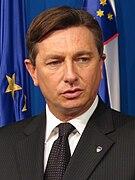 Amtierender slowenischer Präsident Borut Pahor