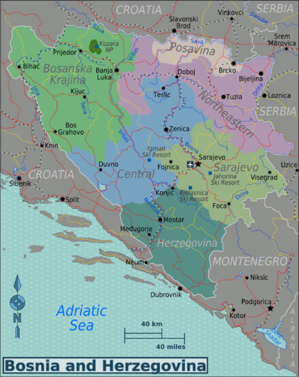 Bosnia and Herzegovina Travel guide at Wikivoyage