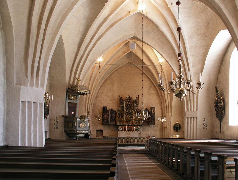 Kyrkorummet.