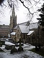 Bournemouth, St. Peter's in snow - geograph.org.uk - 1194144.jpg