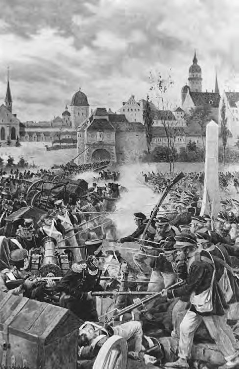 Boutigny-Battle of Leipzig