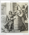 Bowyer Bible Volume 1 Print Print 5. Fame Crowning Raphael. Chaperon.png