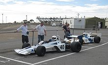 Photo de la Brabham BT40.