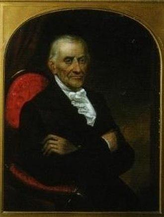 Joseph Campau - Joseph Campau; portrait by Alvah Bradish (1856)