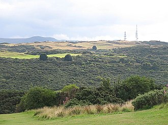 Braid Hills - View of the Braid Hills from Blackford Hill