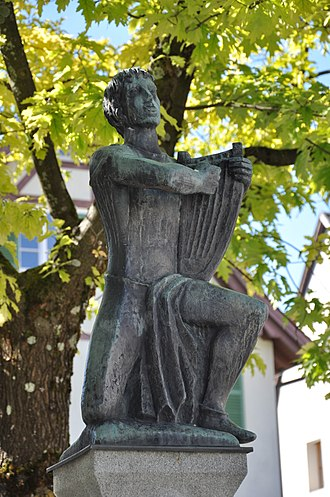 Hugo von Montfort - Montfort statue, Bregenz