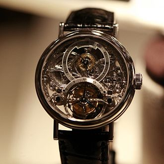 Breguet (brand) - A Breguet squelette watch 2933 with tourbillon