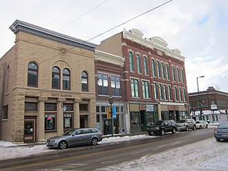 National Register of Historic Places listings in Chippewa County, Wisconsin - Image: Bridge Street CHD 3