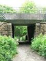 Bridge from Daffy Wood, Cookridge - geograph.org.uk - 819053.jpg