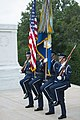 Brig. Gen. Enrique Amrein, chief of the General Staff of the Argentine Air Force, Participates in a U.S. Air Force Full Honors Wreath-Laying Ceremony at the Tomb of the Unknown Soldier (35639943050).jpg