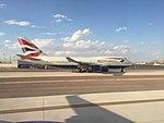British Airways 747 at Las Vegas, Sept 2017.jpg