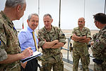 British Ambassador to Afghanistan meets with Helmand officials 140402-M-MF313-080.jpg