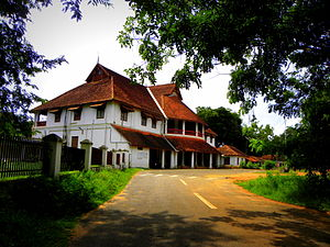 Malayali - British Residency in Kollam, a two-storeyed Palace built by Col. John Munro between 1811 and 1819, with a blend of European-Indian-Tuscan architectural styles