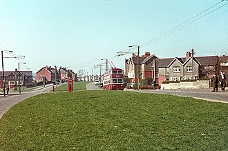Ely, Cardiff - Grand Avenue, 1966