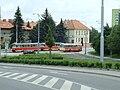 Brno, Medlánky, Setkání historického autobusu s T3P.jpg