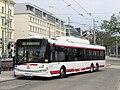 Brno, hlavní nádraží, Škoda 28Tr Solaris č. 404 (3).jpg