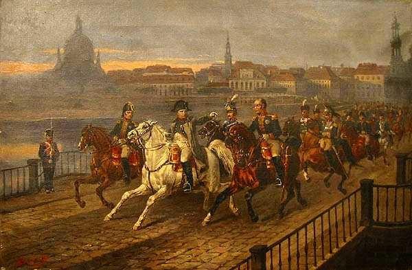 Brodowski Napoleon Elbe