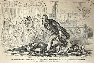 Secret Six - Illustration from the 1860 book, The Public Life of Capt. John Brown, by James Redpath