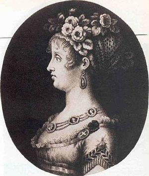 Princess Maria Antonia of Naples and Sicily - Princess Maria Antonietta