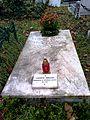 Bucuresti, Romania, Cimitirul Bellu Catolic. Mormantul lui Ludovic Mrazec. Dec. 2015.jpg