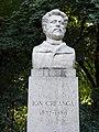 Bucuresti, Romania, Parcul Cismigiu (Aleea Rondului Roman - Statuia lui Ion Creanga); B-II-a-A-19655 (2).JPG