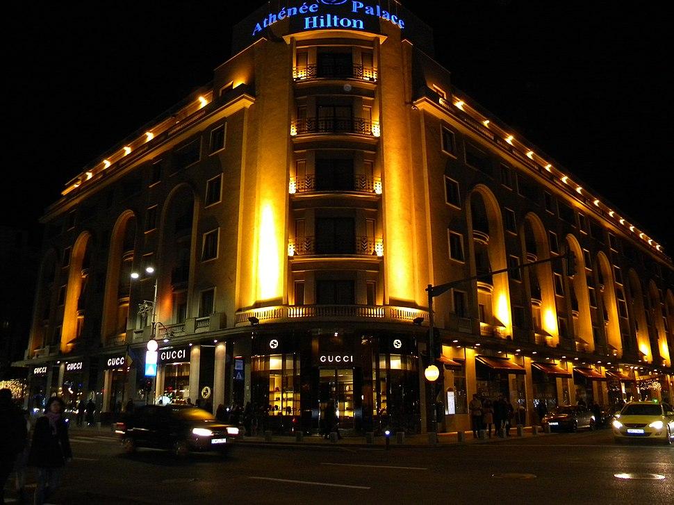 Bucuresti, Romania. Hotelul Athenee Palace Hilton