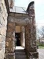 Budafoki Lutheran monument chuch. ID 8486. Entrance. - Budapest District 22. Budafok. Játék St. 16.JPG