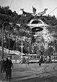 Budapest, Szent Gellért szobor és vízesés. Fortepan 26786.jpg