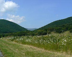 Buffalo Gap, Virginia - Buffalo Gap is a mountain pass through Little North Mountain