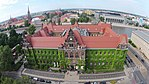 Building of the National Museum in Wrocław aerial view 2017.jpg