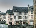 Buildings at Place eglise in Conques 01.jpg