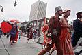 Bumbershoot procession, 1974.jpg