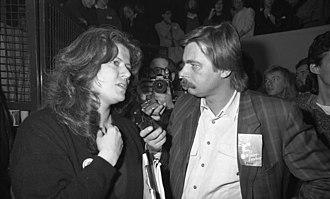 Jutta Ditfurth - Jutta Ditfurth during an interview, 1987