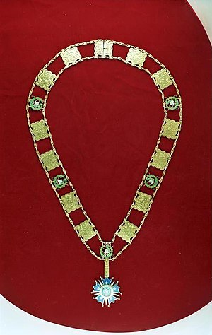 Order of the Quetzal - Collar of the order