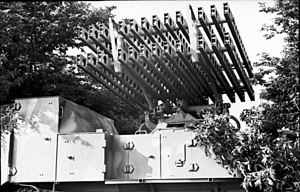 8 cm Raketen-Vielfachwerfer - A SdKfz 4 with a 8 cm Raketen-Vielfachwerfer launcher